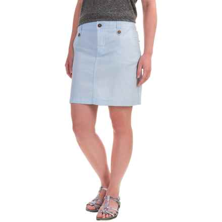 Mountain Khakis Island Skirt (For Women) in Blue Note - Closeouts