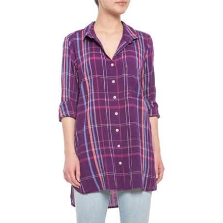 c11236fa Mountain Khakis Jenny Tunic Shirt - Long Sleeve (For Women) in Violette
