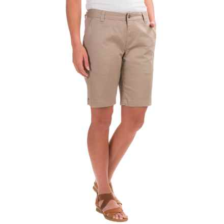 Mountain Khakis Lake Lodge Stretch-Twill Shorts (For Women) in Classic Khaki - Closeouts