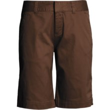 Mountain Khakis Lake Lodge Twill Shorts (For Women) in Chocolate - Closeouts