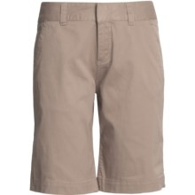 Mountain Khakis Lake Lodge Twill Shorts (For Women) in Classic Khaki - Closeouts