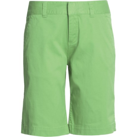 Mountain Khakis Lake Lodge Twill Shorts (For Women) in Chocolate