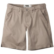 Mountain Khakis Lake Lodge Twill Shorts - Stretch Cotton (For Women) in Classic Khaki - Closeouts