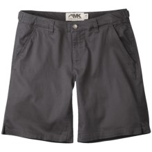 Mountain Khakis Lake Lodge Twill Shorts - Stretch Cotton (For Women) in Granite - Closeouts