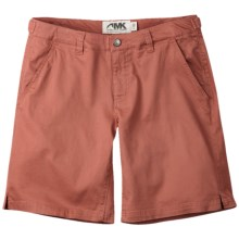 Mountain Khakis Lake Lodge Twill Shorts - Stretch Cotton (For Women) in Summer Red - Closeouts