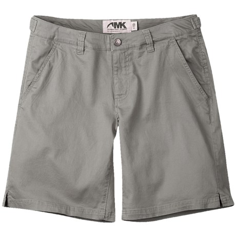 Mountain Khakis Lake Lodge Twill Shorts - Stretch Cotton (For Women) in Willow