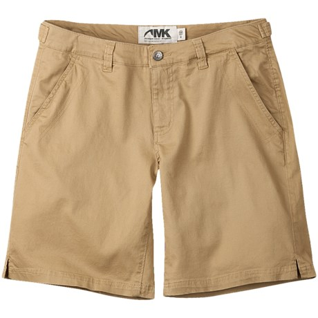 Mountain Khakis Lake Lodge Twill Shorts - Stretch Cotton (For Women) in Yellowstone