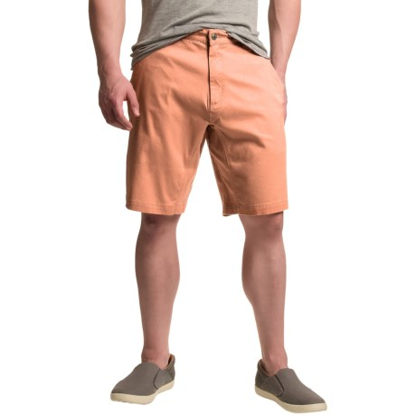 Mountain Khakis Lake Lodge Twill Shorts - UPF 50+ (For Men) in Clementine