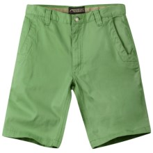 Mountain Khakis Lake Lodge Twill Shorts - UPF 50+ (For Men) in Mint Julep - Closeouts