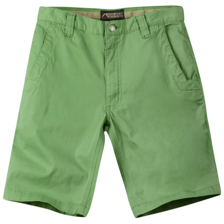 Mountain Khakis Lake Lodge Twill Shorts - UPF 50+ (For Men) in Mint Julep