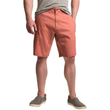 Mountain Khakis Lake Lodge Twill Shorts - UPF 50+ (For Men) in Summer Red - Closeouts