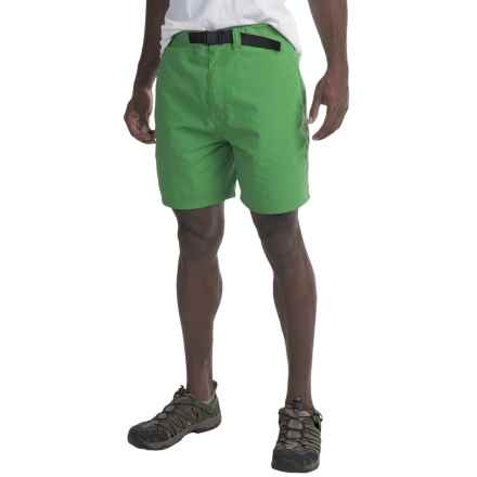 Mountain Khakis Latitude Belted Shorts - UPF 45+ (For Men) in Turf - Closeouts