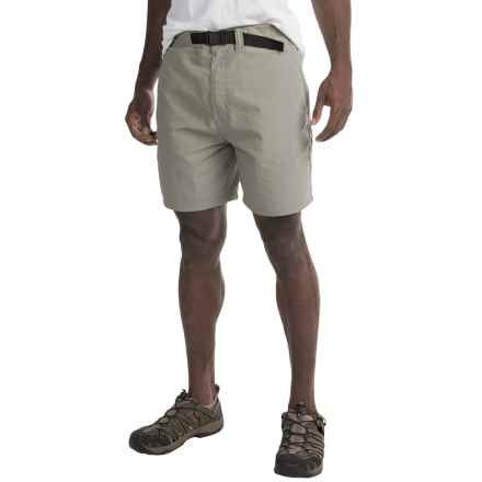 Mountain Khakis Latitude Belted Shorts - UPF 45+ (For Men) in Willow - Closeouts