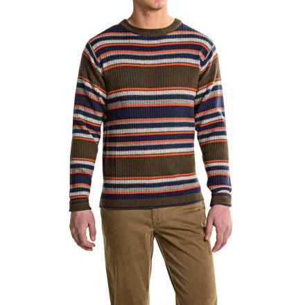 Mountain Khakis Lodge Crew Neck Sweater - Merino Wool (For Men) in Stripe - Closeouts