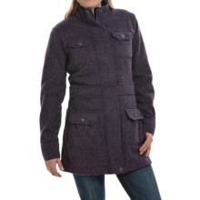 Mountain Khakis Old Faithful Coat - Sweater Fleece (For Women) in Eggplant - Closeouts