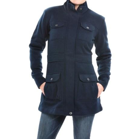 Mountain Khakis Old Faithful Coat Sweater Fleece (For Women)