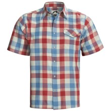 Mountain Khakis Oxbow Shirt - Short Sleeve (For Men) in Stone Multi - Closeouts