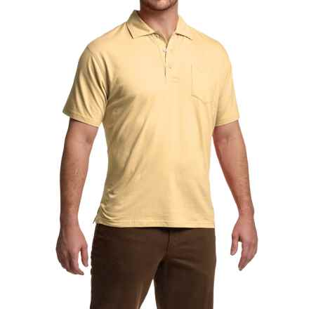 Mountain Khakis Patio Polo Shirt - Short Sleeve (For Men) in Ivory - Closeouts