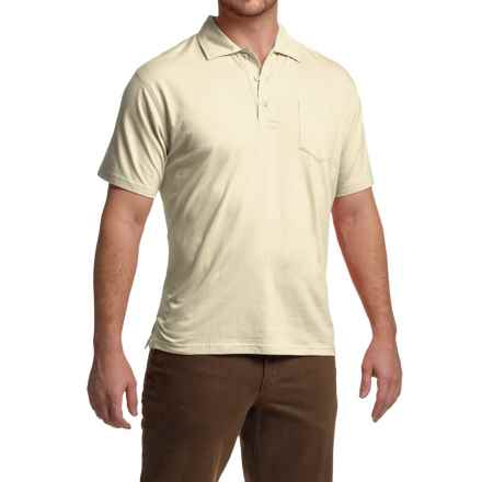 Mountain Khakis Patio Polo Shirt - Short Sleeve (For Men) in Linen - Closeouts