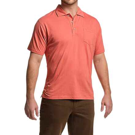 Mountain Khakis Patio Polo Shirt - Short Sleeve (For Men) in Summer Red - Closeouts
