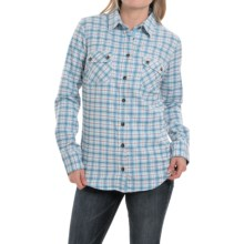 Mountain Khakis Peaks Flannel Shirt - Long Sleeve (For Women) in Glacier - Closeouts