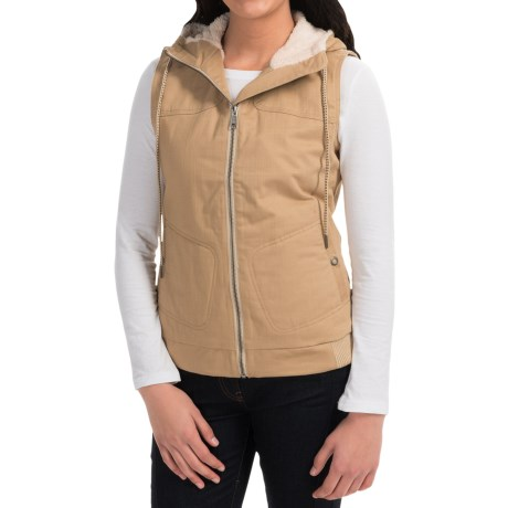 Mountain Khakis Pika Vest Fleece Lined (For Women)