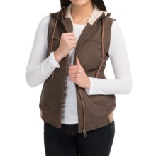 Mountain Khakis Pika Vest - Fleece Lined (For Women) in Terra - Closeouts