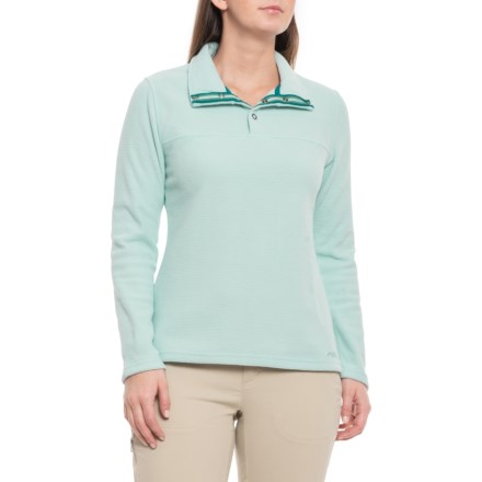 f660f379 Mountain Khakis Pop Top Pullover Shirt - Snap Neck, Long Sleeve (For Women)