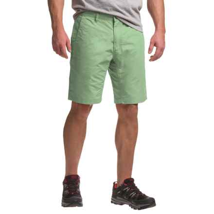 Mountain Khakis Poplin Shorts - Broadway Fit (For Men) in Mint - Closeouts