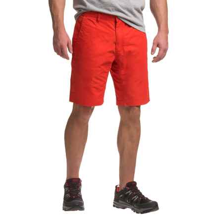 Mountain Khakis Poplin Shorts - Broadway Fit (For Men) in Tomato - Closeouts