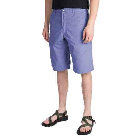 Mountain Khakis Poplin Shorts (For Men) in Bahama Blue - Closeouts