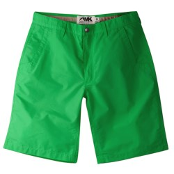 Mountain Khakis Poplin Shorts (For Men) in Green Thumb