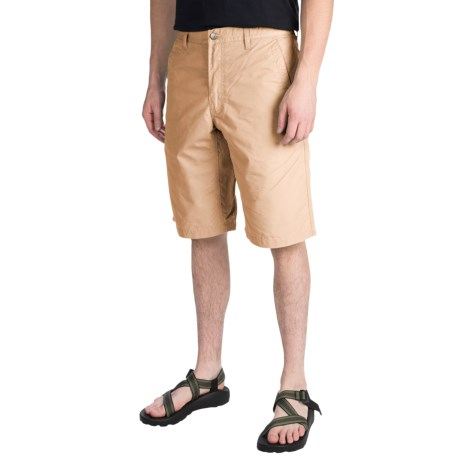 Mountain Khakis Poplin Shorts (For Men) in Khaki