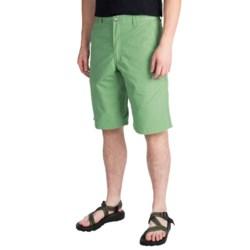 Mountain Khakis Poplin Shorts (For Men) in Mint