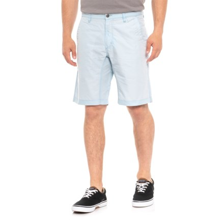 bda7ec0e10 Mountain Khakis Poplin Shorts - Slim Fit (For Men) in Breeze - Overstock