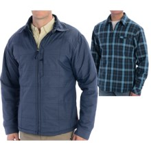 Mountain Khakis Quilted Reversible Jacket - Insulated (For Men) in Navy Multi - Closeouts