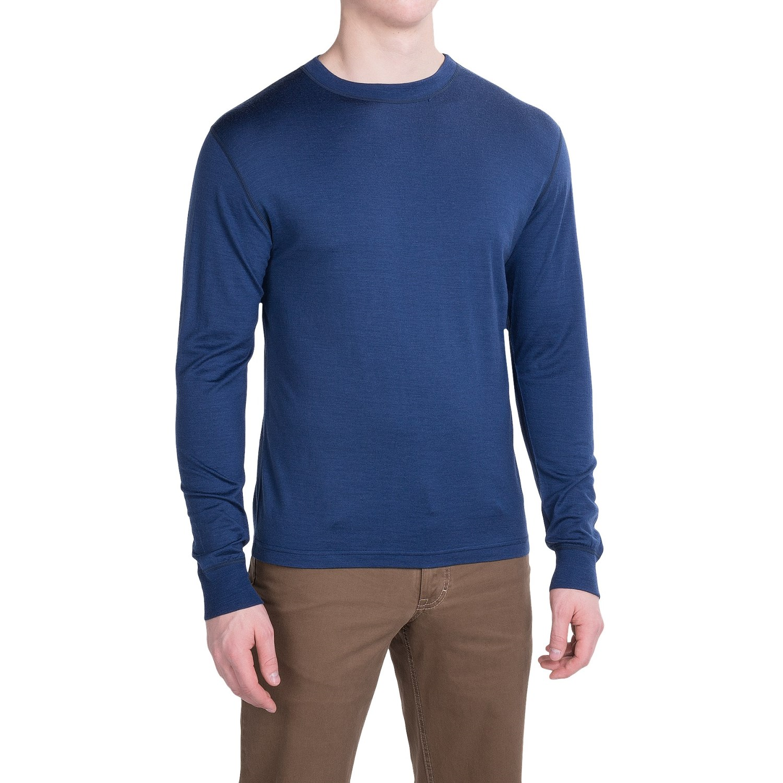 Mountain khakis rendezvous micro shirt for men save 44 for Merino wool shirt long sleeve