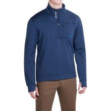 Mountain Khakis Rendezvous Pullover Shirt - Merino Wool, Long Sleeve (For Men) in Clear Blue - Closeouts