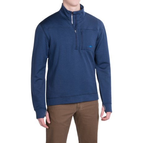 Mountain Khakis Rendezvous Pullover Shirt Merino Wool Long Sleeve For Men