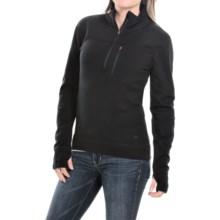 Mountain Khakis Rendezvous Shirt - Merino Wool, Zip Neck, Long Sleeve (For Women) in Black - Closeouts