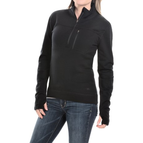 Mountain Khakis Rendezvous Shirt Merino Wool, Zip Neck, Long Sleeve (For Women)