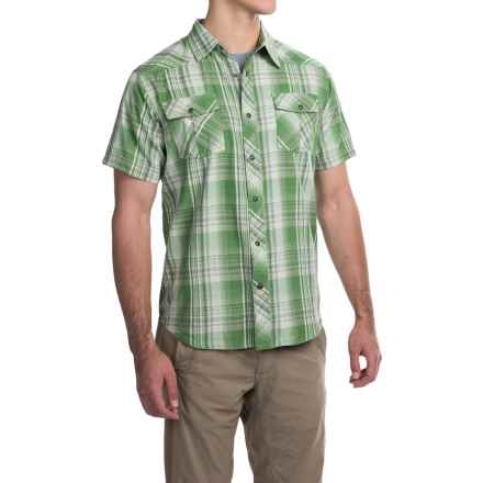 Mountain Khakis Rodeo Shirt - Short Sleeve (For Men) in Wild Grass - Closeouts