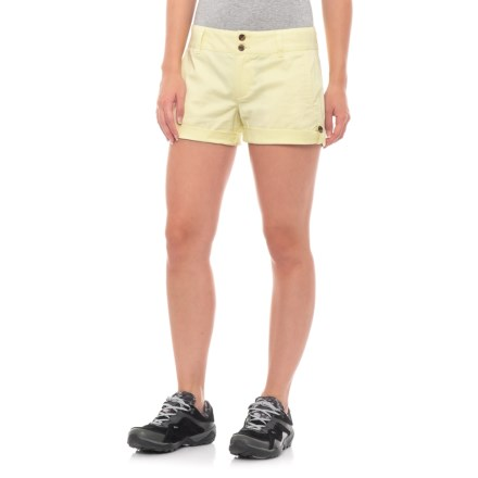 060366f44bff Mountain Khakis Sadie Chino Classic Fit Shorts (For Women) in Lemonade -  Closeouts