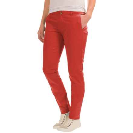 Mountain Khakis Sadie Skinny Chino Pants (For Women) in Tomato - Closeouts