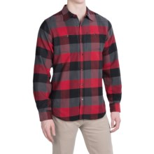 Mountain Khakis Saloon Flannel Shirt - Long Sleeve (For Men) in Engine Red - Closeouts
