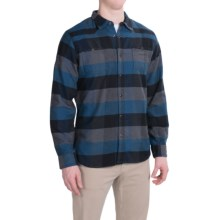 Mountain Khakis Saloon Flannel Shirt - Long Sleeve (For Men) in Midnight Blue - Closeouts