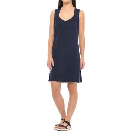 Mountain Khakis Sedona Dress - Built-In Shelf Bra, Sleeveless (For Women) in Navy - Closeouts