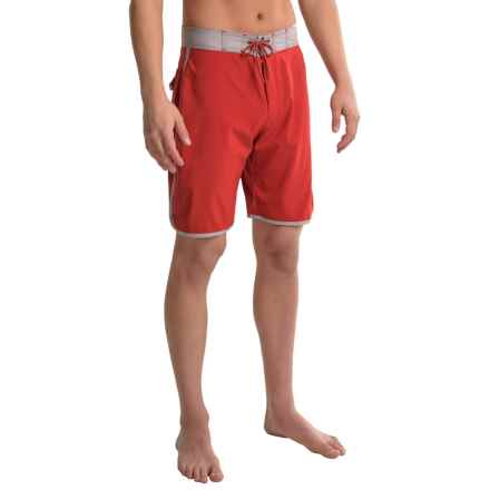 Mountain Khakis Shifter Boardshorts - UPF 40+ (For Men) in Engine Red - Closeouts