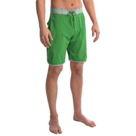 Mountain Khakis Shifter Boardshorts - UPF 40+ (For Men) in Evergreen - Closeouts