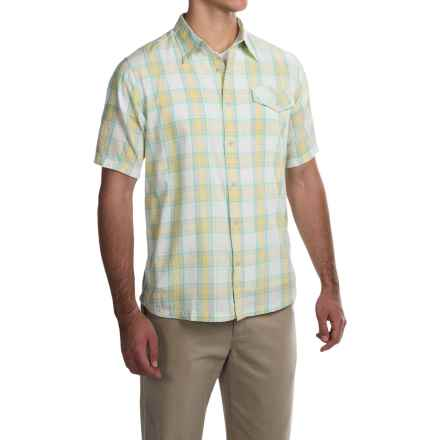 Mountain Khakis Shoreline Shirt - Short Sleeve (For Men) in Linen - Closeouts